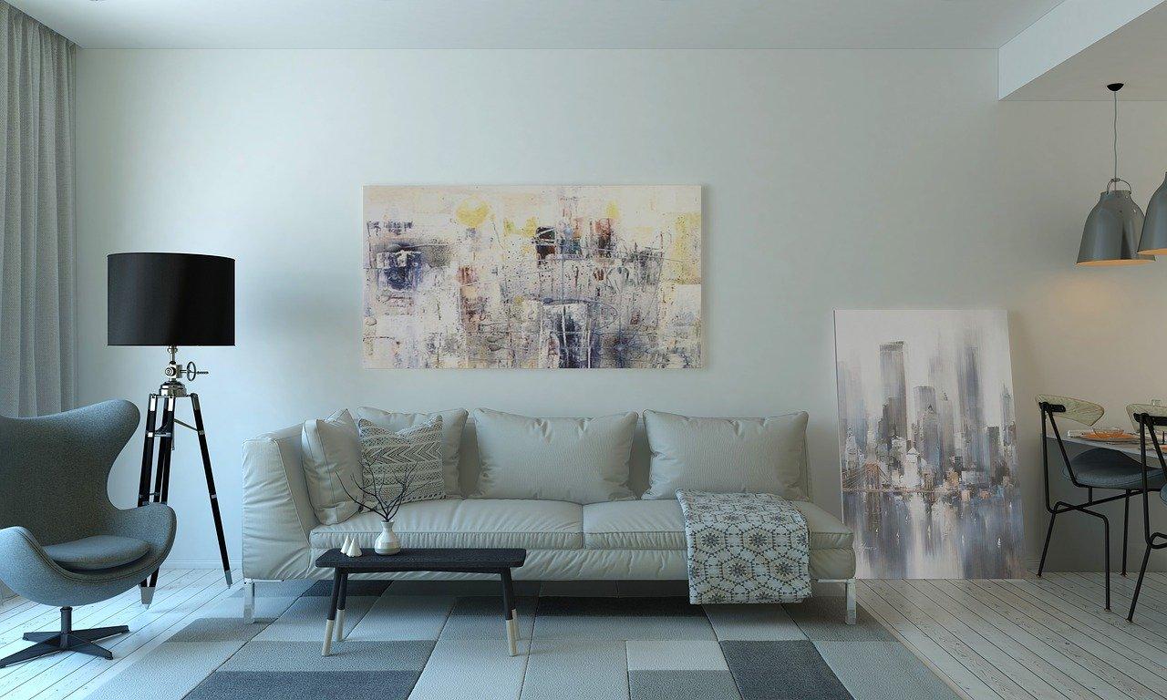 Wohnzimmer modern künstlerisch Wohnung und Einrichtung
